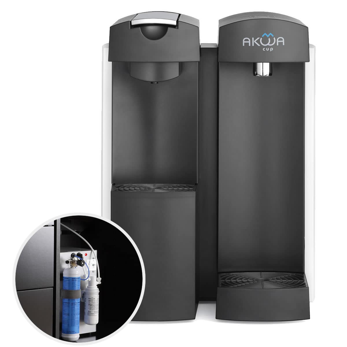 Water and coffee dispenser